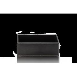 BROWNIE BOD2 cuir noir - Decor Walther