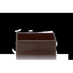 BROWNIE BOD2 cuir brun - Decor Walther