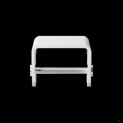 STONE TPH4 blanc - inox brossé - Decor Walther