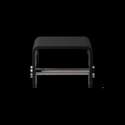 STONE TPH4 noir - inox brossé - Decor Walther