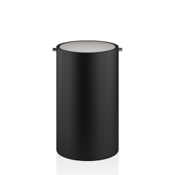 STONE BEMD noir - inox brossé - Decor Walther