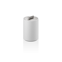 STONE DMD S blanc - inox brossé - Decor Walther