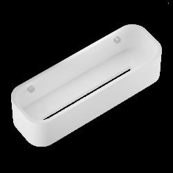 STONE DCT30 blanc - inox brossé - Decor Walther