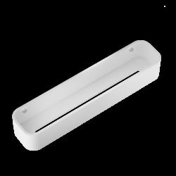 STONE DCT45 blanc - inox brossé - Decor Walther