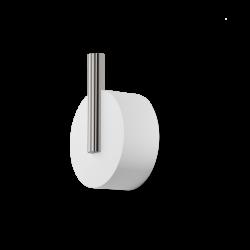 STONE WHK blanc - inox brossé - Decor Walther