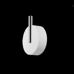 STONE WHG blanc - chrome - Decor Walther