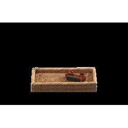 BASKET KS rotin foncé - Decor Walther