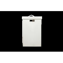 BROWNIE WB cuir blanc - Decor Walther