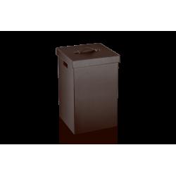 BROWNIE WB cuir brun - Decor Walther