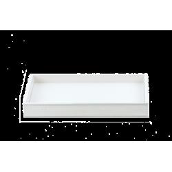 BROWNIE TAB L cuir blanc - Decor Walther