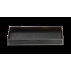 BROWNIE TAB L cuir noir - Decor Walther