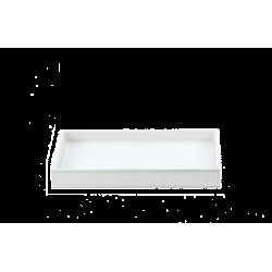 BROWNIE TAB M cuir blanc - Decor Walther