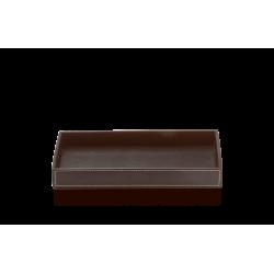 BROWNIE TAB M cuir brun - Decor Walther