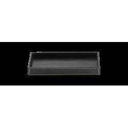 BROWNIE TAB M cuir noir - Decor Walther