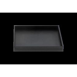 BROWNIE TAB Q cuir noir - Decor Walther