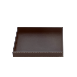 BROWNIE TAB R cuir brun - Decor Walther