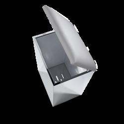CASE HK2 inox poli - gris - Decor Walther
