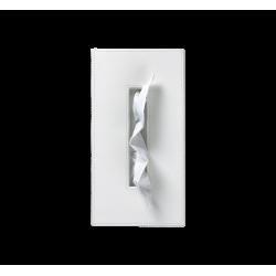 BROWNIE KB40 cuir blanc - Decor Walther