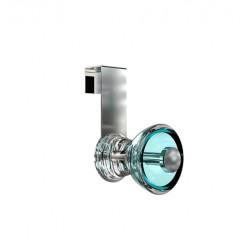 BD1055-T acrylique turquoise - chrome - Frost