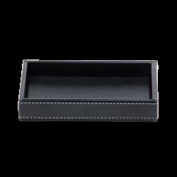 BROWNIE TAB S cuir noir - Decor Walther