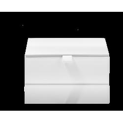 BROWNIE BMD2 cuir blanc - Decor Walther