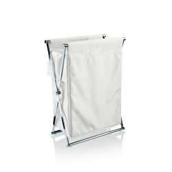 Panier chrome - blanc CROSS WB