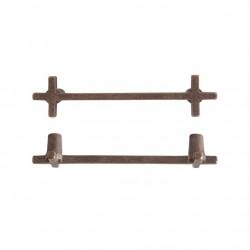 PMCRO-128 RB / bronze brut