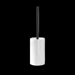 Brosse WC blanche - noire...